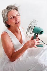 Menopozda sıcak basmaları